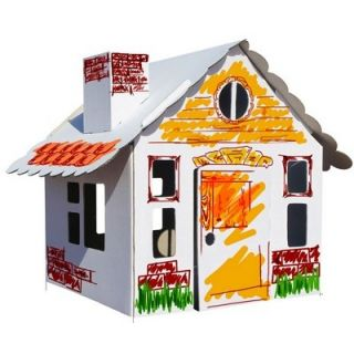 Набор 3D домик для раскрашивания