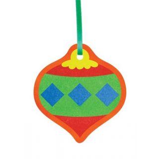 Ёлочные игрушки №2 для раскрашивания песком