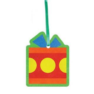 Ёлочные игрушки №3 для раскрашивания песком