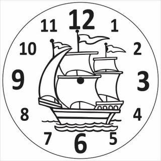 Часы Паруса