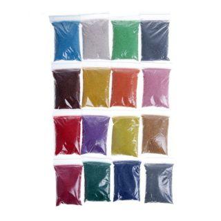 Набор цветного песка в ведерке смешарики