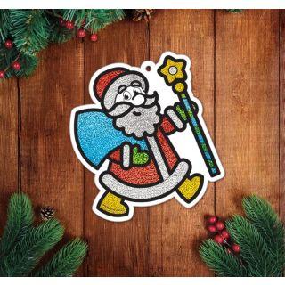 Магнит Дед мороз А5