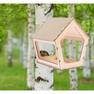 Кормушка №1 для птиц 20×24×30 см