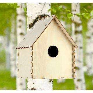 Кормушка №2 для птиц 25×21×18 см