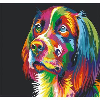 Набор Радужная Собака А3
