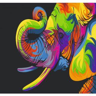 Набор Радужный Слон А3