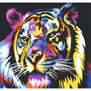 Набор Радужный Тигр А3