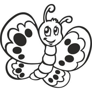 Бабочка №1 А4