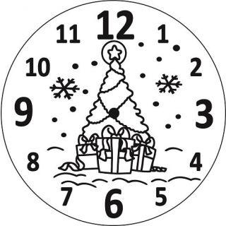 Часы Ёлка