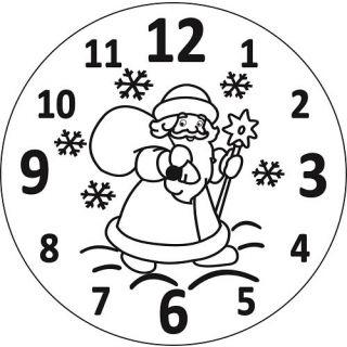 Часы Дед мороз