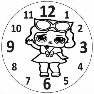 Часы Кукла №2
