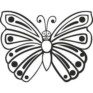 Бабочка №2 А5