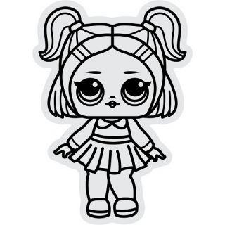 Магнит Кукла №3 А5