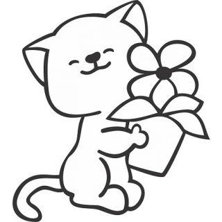Кот №2 А4