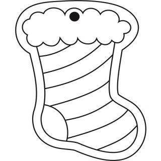 Ёлочные игрушки №5 для раскрашивания песком
