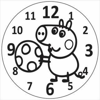 Часы Пеппа №1