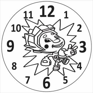 Часы Фиксик №2