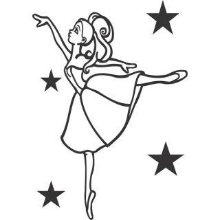 Балерина №1 А5