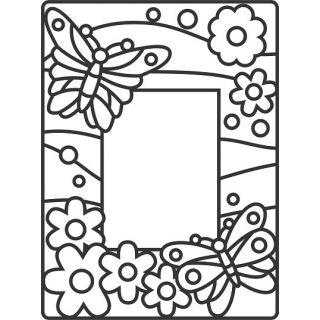 Рамка Бабочки А4