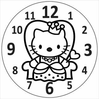Часы Кошечка №3