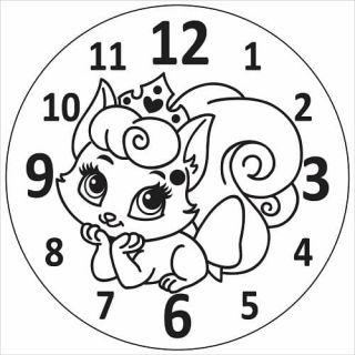 Часы Кошка №6