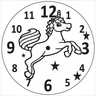 Часы Единорог №2